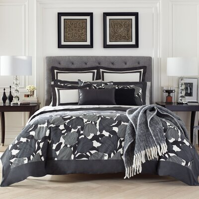 Brigitte 3 Piece Duvet Set Size: King