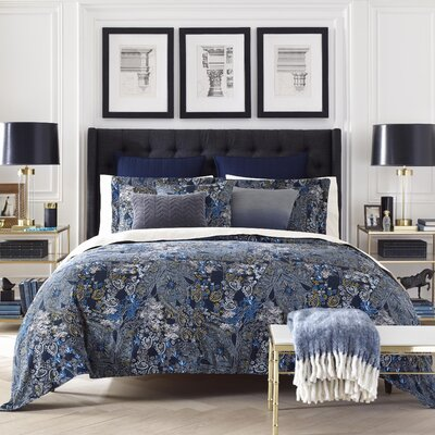 Hutton 3 Piece Comforter Set Size: Full/Queen