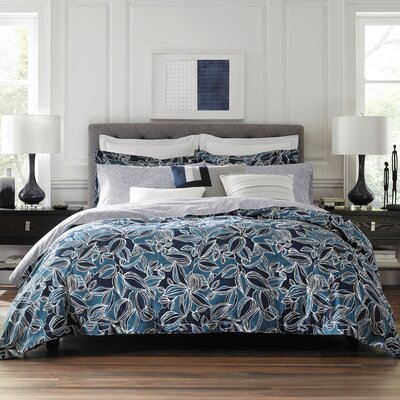 Beach 3 Piece Duvet Set Size: King