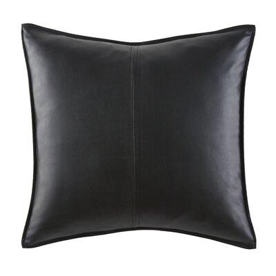 Vegan Leather Throw Pillow