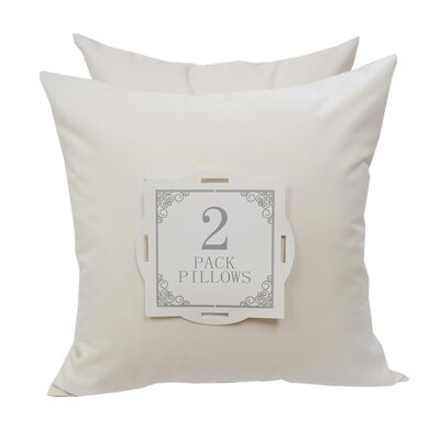 Outdoor Throw Pillow Color: White