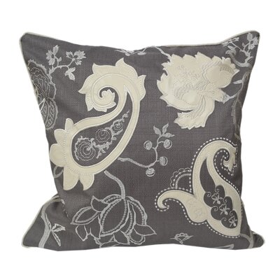 Whimsical Floral Throw Pillow
