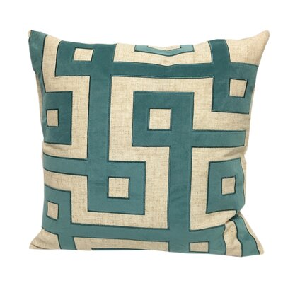 Kemper Applique Throw Pillow