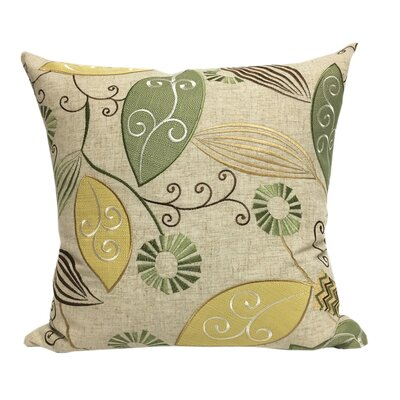 Olevia Embroidered Throw Pillow