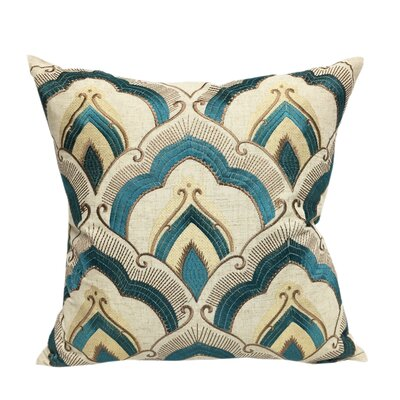 Syden Embroidered Throw Pillow