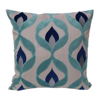 Ulani Embroidered Throw Pillow