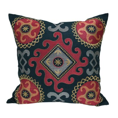Glengarry Embroidered Throw Pillow