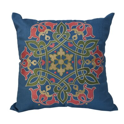 Braden Embroidered Throw Pillow