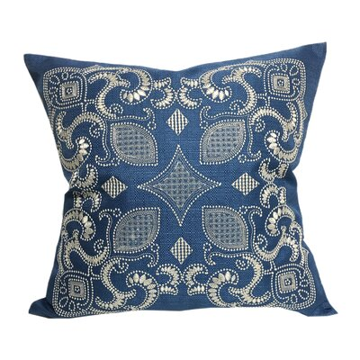 Alexandra Embroidered Throw Pillow