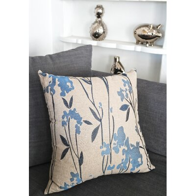 Lewisboro Embroidered Whimsical Throw Pillow