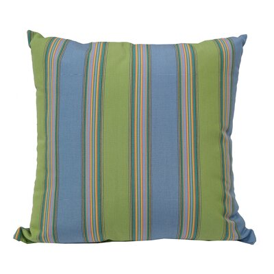 Lichtenstein Bravada Outdoor Sunbrella Throw Pillow Color: Limelite