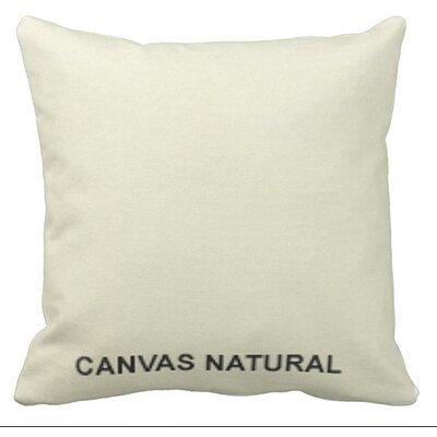 Lincolnville Outdoor Sunbrella Throw Pillow Color: Natural