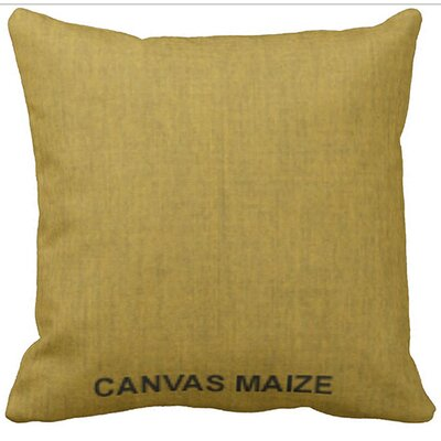 Lincolnville Outdoor Sunbrella Throw Pillow Color: Maize