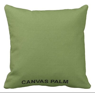 Lincolnville Outdoor Sunbrella Throw Pillow Color: Palm