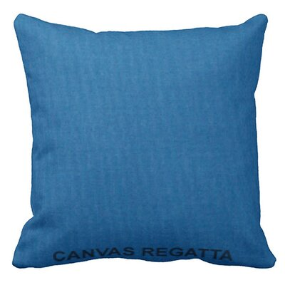 Lincolnville Outdoor Sunbrella Throw Pillow Color: Regatta