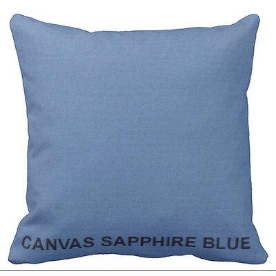 Lincolnville Outdoor Sunbrella Throw Pillow Color: Sapphire Blue