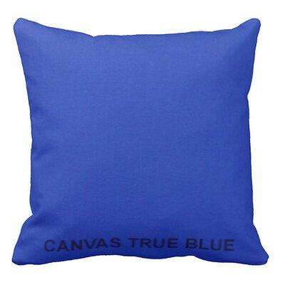 Lincolnville Outdoor Sunbrella Throw Pillow Color: True Blue