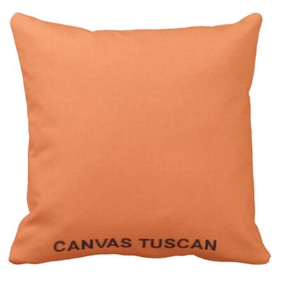 Lincolnville Outdoor Sunbrella Throw Pillow Color: Tuscan