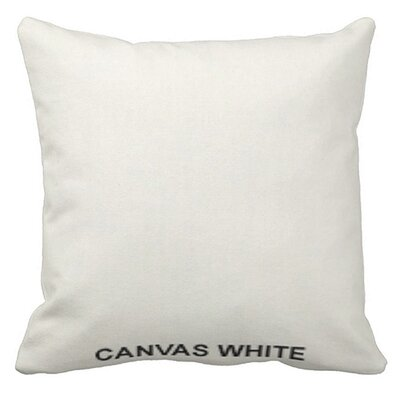 Lincolnville Outdoor Sunbrella Throw Pillow Color: White