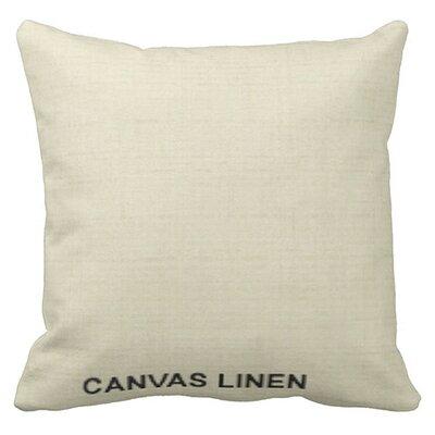 Lincolnville Outdoor Sunbrella Throw Pillow Color: Linen