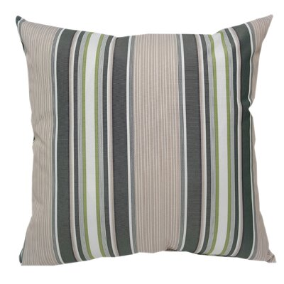 Wurthing Waterproof Outdoor Striped Throw Pillow