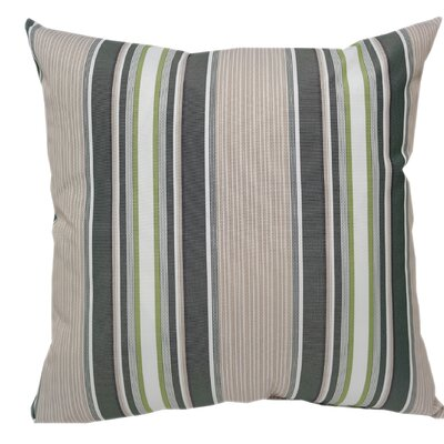 Wurthing Outdoor Striped Throw Pillow