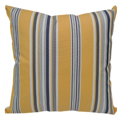 Denning Striped Outdoor Throw Pillow