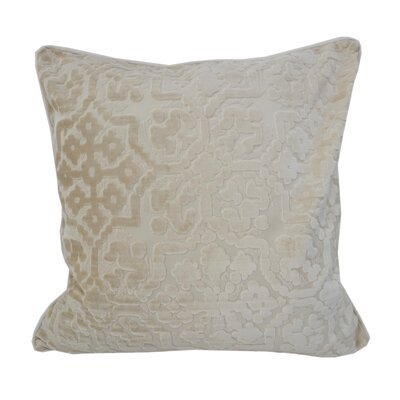 Heswall Modern Throw Pillow Color: Ivory
