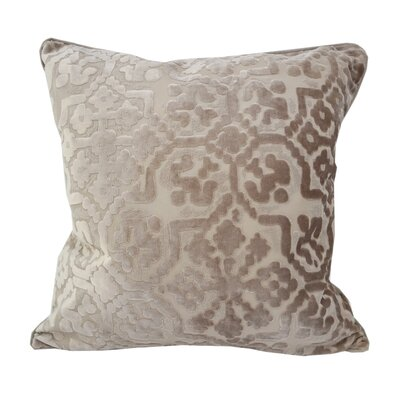 Heswall Modern Throw Pillow Color: Tan