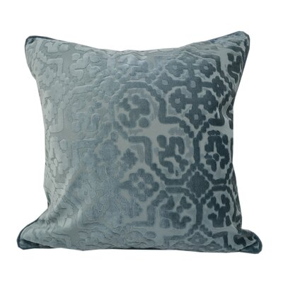 Heswall Modern Throw Pillow Color: Spa Blue