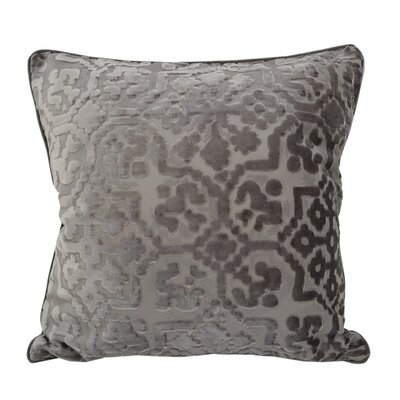 Heswall Modern Throw Pillow Color: Gray