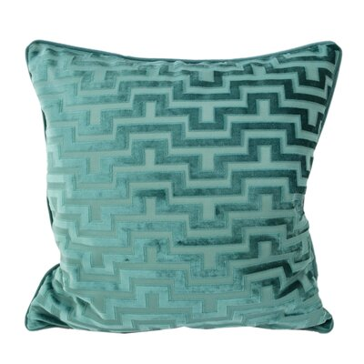 West Mersea Modern Throw Pillow Color: Spa