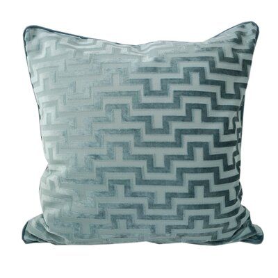 West Mersea Modern Throw Pillow Color: Ocean