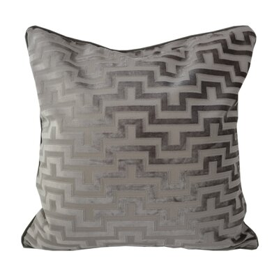 West Mersea Modern Throw Pillow Color: Gray