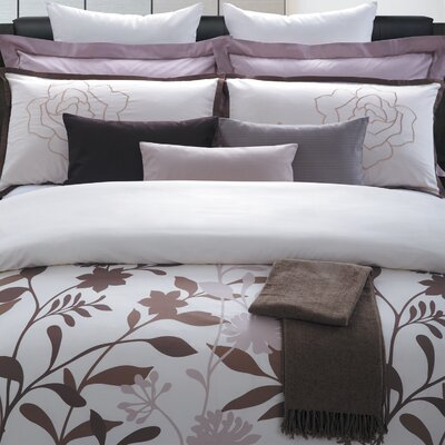 May Blossom 7 Piece Duvet Set Size: King