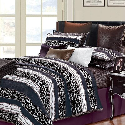 Passionate 7 Piece Queen Duvet Set