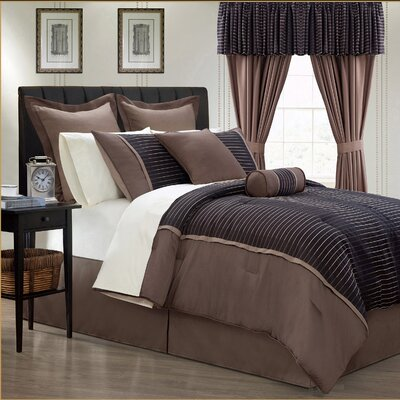 Limbo 24 Piece Comforter Set Size: Queen