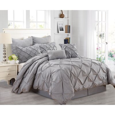 Athena 8 Piece Comforter Set Size: King