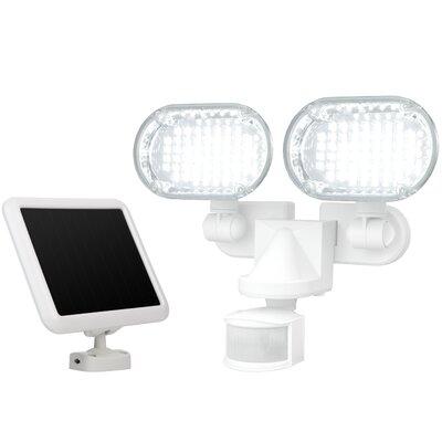 Twin Head Solar Motion 100-Light LED Security Light