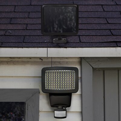 Solar Motion 120-Light LED Security Light Finish: Black