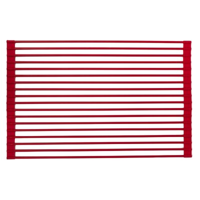Roll-Up Dish Rack Finish: Red