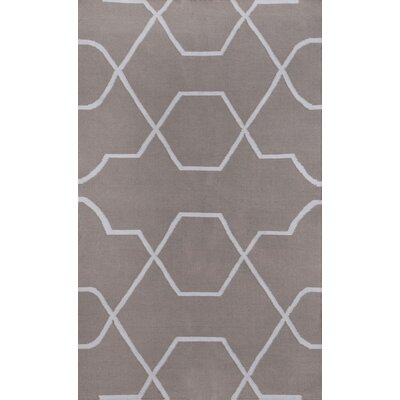 Thai 01 Gray Indoor/Outdoor Area Rug Rug Size: 5 x 8