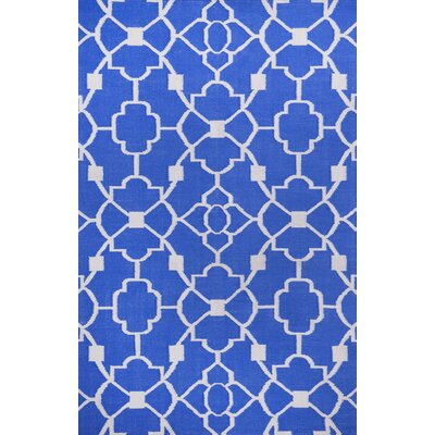 Thai 02 Blue Indoor/Outdoor Area Rug Rug Size: 8 x 11