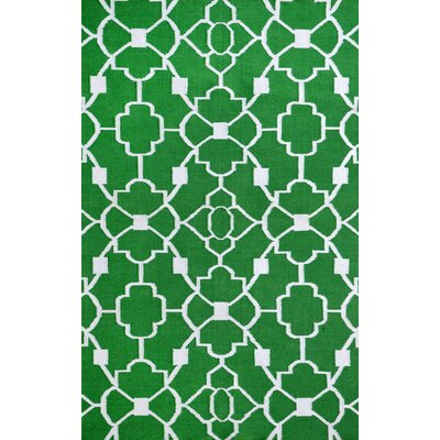 Thai 02 Green Indoor/Outdoor Area Rug Rug Size: 8 x 11
