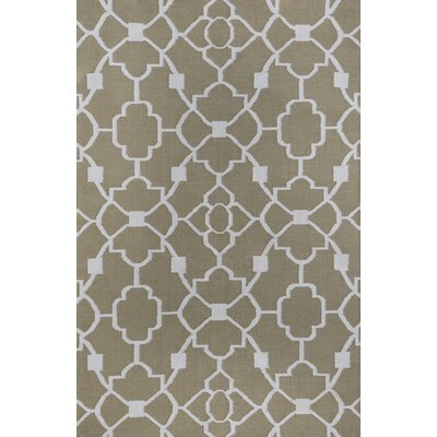 Thai 02 Gray Indoor/Outdoor Area Rug Rug Size: 8 x 11