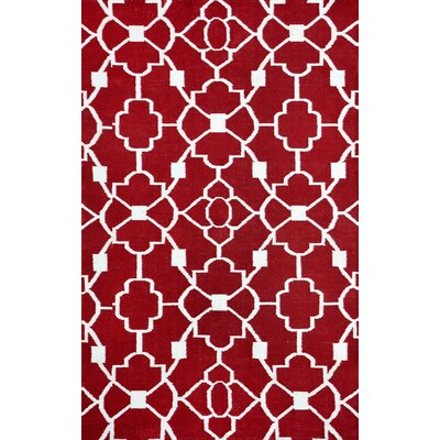 Thai 02 Red Indoor/Outdoor Area Rug Rug Size: 5 x 8