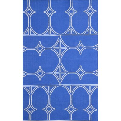 Thai 03 Blue Indoor/Outdoor Area Rug Rug Size: 8 x 11
