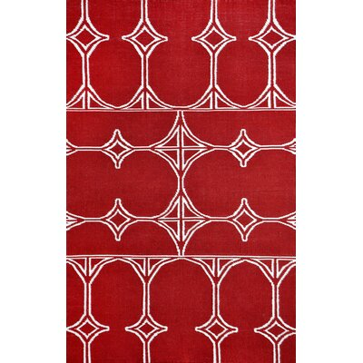 Thai 03 Red Indoor/Outdoor Area Rug Rug Size: 5 x 8