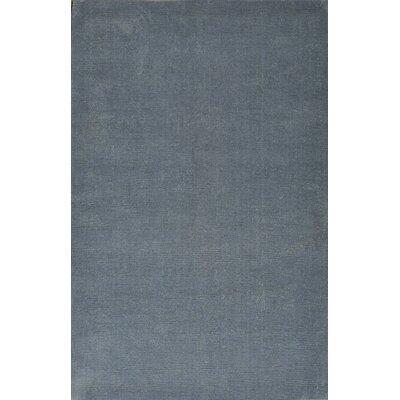 Verde Blue Rug Rug Size: 8 x 11