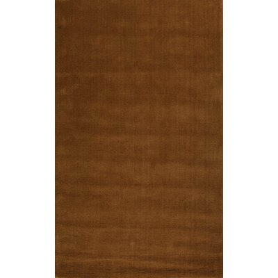Verde Brown Rug Rug Size: 8 x 11